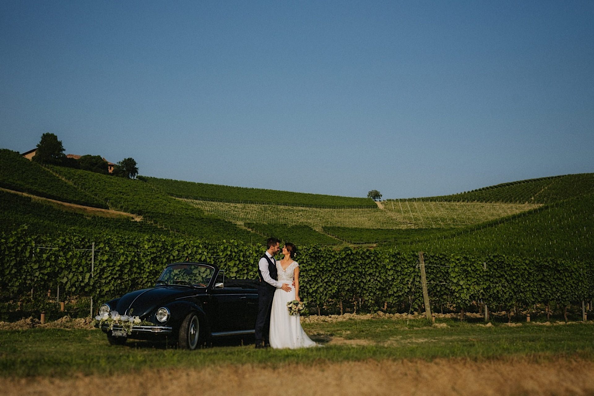 fotografo matrimonio Langhe tenuta fontanafredda
